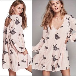 Free People Emma Austin boho embroidered dress